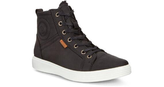 ECCO S7 Teen Shoes Junior Black